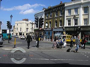 Street ion Greenwich