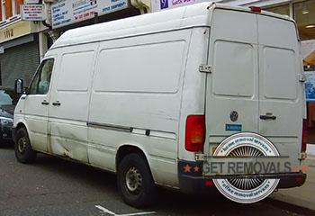 Aperfield-parked-white-van