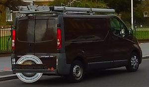 Barnes-black-van