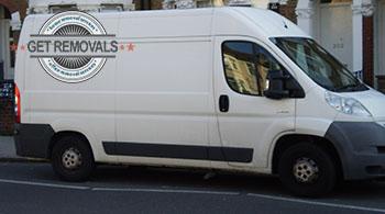 Brompton - removal van