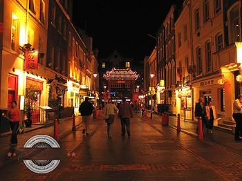 Street in Soho, W1