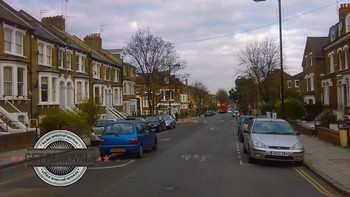 Suburb houses in Tufnell Park