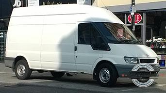 Book van in Kidbrooke