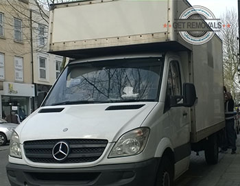 Licensed man and van in Denmark Hill