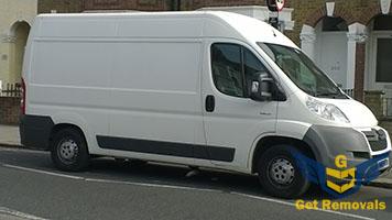 Moving van renting